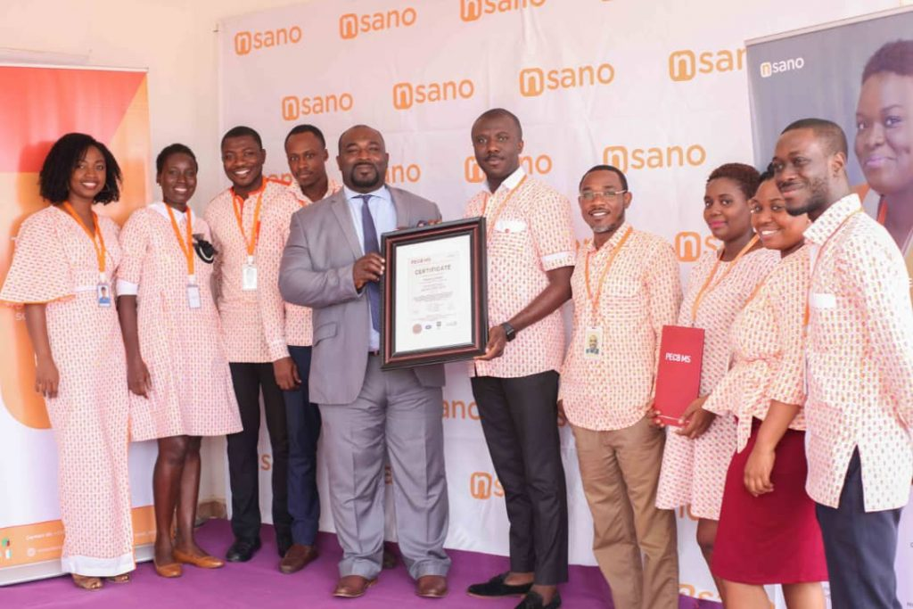 Fintech Firm Nsano Receives Is0 27001 2013 Certification
