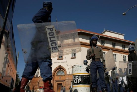 Rally was called by opposition Movement for Democratic Change as it looks to rally support against President Mnangagwa. Riot police officers keep watch outside the Tredgold Building Magistrates Court in Bulawayo [Philimon Bulawayo/Reuters]   Troops and police have been deployed inZimbabwe's second city of Bulawayo in a bid to deter an unsanctioned opposition march, three […]