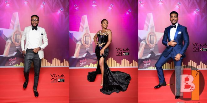 See What Some Ghanaian Celebrities Wore At The 2nd Day Of The 2020 Vgma Red Carpet Omanghana